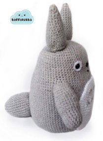 grey totoro