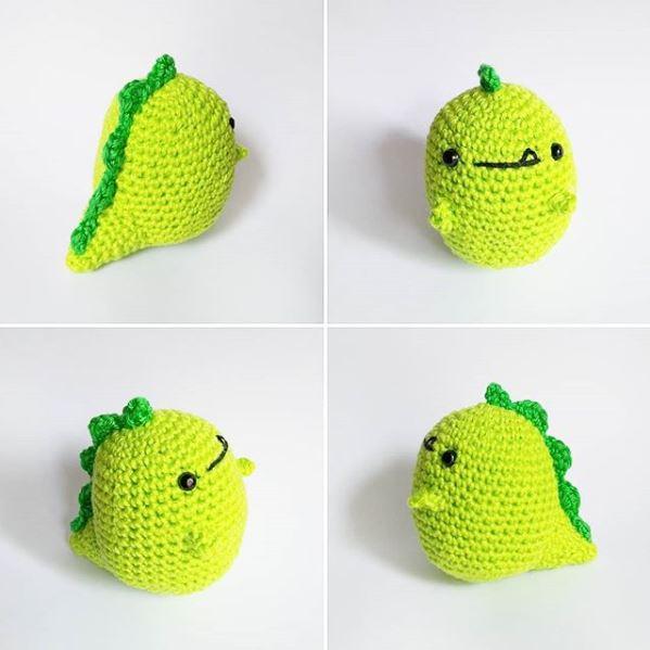 Little Dino Amigurumi Pattern